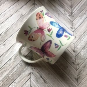 Beautiful butterfly designed coffee cup, NEW